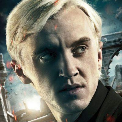 Tom Felton es Draco Malfoy en 'Harry Potter y las reliquias de la muerte: Parte 2'