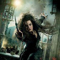 Banner de Bellatrix de 'Harry Potter y las reliquias de la muerte: Parte 2'