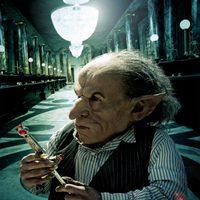 Banner de Griphook de 'Harry Potter y las reliquias de la muerte: Parte 2'