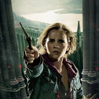 Banner de Hermione de 'Harry Potter y las reliquias de la muerte: Parte 2'