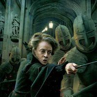 Banner de McGonagall de 'Harry Potter y las reliquias de la muerte: Parte 2'