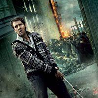 Banner de Neville de 'Harry Potter y las reliquias de la muerte: Parte 2'