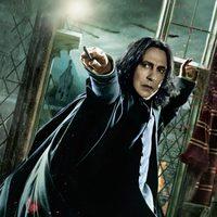Banner de Snape de 'Harry Potter y las reliquias de la muerte: Parte 2'