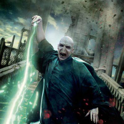 Banner de Voldemort de 'Harry Potter y las reliquias de la muerte: Parte 2'