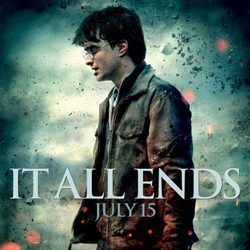 Póster de Daniel Radcliffe en Harry Potter y las reliquias de la muerte: Parte 2