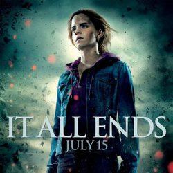 Póster de Emma Watson en Harry Potter y las reliquias de la muerte: Parte 2