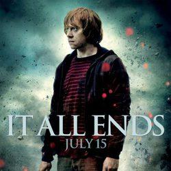 Póster de Rupert Grint en Harry Potter y las reliquias de la muerte: Parte 2