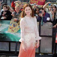 Bonnie Wright en la premiére de 'Harry Potter y las reliquias de la muerte: Parte 2'