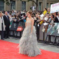 Emma Watson llega a la premiére de 'Las reliquias de la muerte: Parte 2'