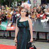 Helena Bonham Carter en la alfombra roja de 'Harry Potter y las reliquias de la muerte: Parte 2'