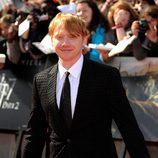 Rupert Grint en la premiére de 'Harry Potter y las reliquias de la muerte: Parte 2'