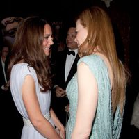 Catalina de Cambridge y Nicole Kidman en el Belasco Theater