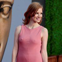 Jessica Chastain posa en los BAFTA Brits