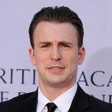 Chris Evans en el photocall de los BAFTA Brits