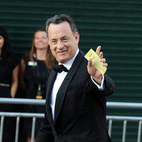 Tom Hanks llega a los BAFTA Brits
