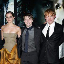 Los protagonistas de Harry Potter en la premiére de Nueva York