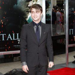 Daniel Radcliffe en el estreno de Nueva York de Harry Potter