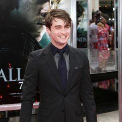 Daniel Radcliffe en la presentación neoyorkina de 'Las reliquias de la muerte: Parte 2'