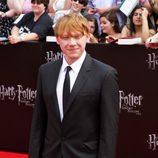 Rupert Grint en la presentación neoyorkina de Harry Potter