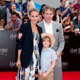 Sarah Jessica Parker y Matthew Broderick en el estreno de Harry Potter