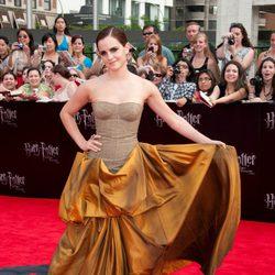 Emma Watson, deslumbrante en la premiére de Nueva York