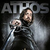Matthew MacFadyen es Athos en 'Los tres mosqueteros'