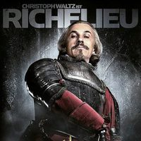 Christoph Waltz es el cardenal Richelieu en 'Los tres mosqueteros'