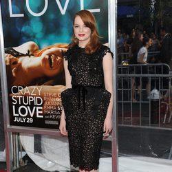 Emma Stone en la premiére de 'Crazy, stupid love'