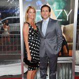 Steve Carell y su esposa presentan 'Crazy, stupid love' en Nueva York
