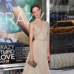 Analeigh Tipton en el estreno neoyorkino de 'Crazy, stupid love'