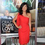 Liza Lapira en la premiére de 'Crazy, stupid love'