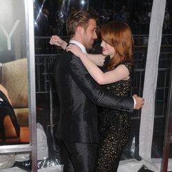 Ryan Gosling y Emma Stone, muy juntos en la premiére de 'Crazy, stupid love'