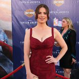 Hayley Atwell estrena en Los Angeles 'Capitán América'