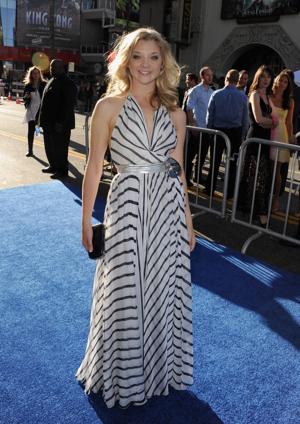 Natalie Dormer en el estreno de 'Capitán América'
