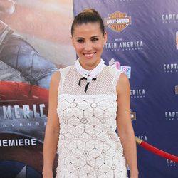 Elsa Pataky asistió a la premiére de 'Capitán América'