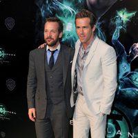 Peter Sarsgaard y Ryan Reynolds presentan en España 'Green Lantern'