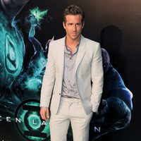 Ryan Reynolds presenta en Madrid 'Green Lantern'