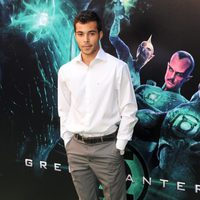 Nasser Hassan en la premiére de 'Green Lantern'