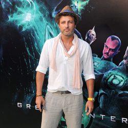 Jesús Olmedo en la premiére de 'Green Lantern'