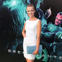Alejandra Lorente en la premiére de 'Green Lantern'