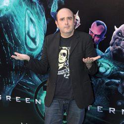 Carlos Areces en la premiére de 'Green Lantern'