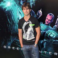 Daniel Muriel en la premiére de 'Green Lantern'