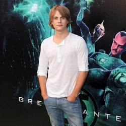 Jaime Olías en la premiére de 'Green Lantern'