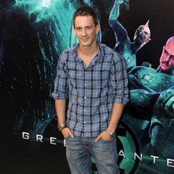 Elio González en la premiére de 'Green Lantern'