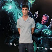 Israel Rodríguez en la premiére de 'Green Lantern'