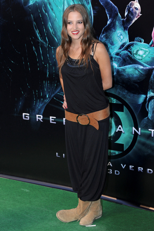 Ana Fernández García ana fernández garcía en la premiére de 'green lantern