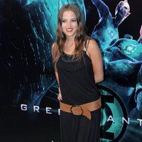 Ana Fernández García en la premiére de 'Green Lantern'