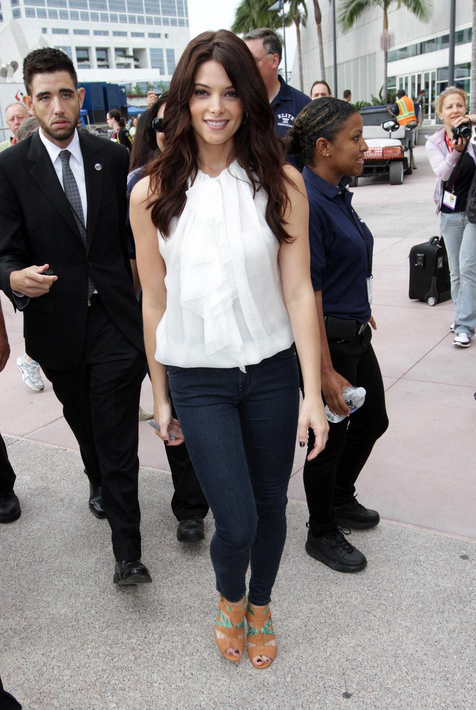 Ashley Greene presenta 'Amanecer: Parte 1' en la Comic-Con
