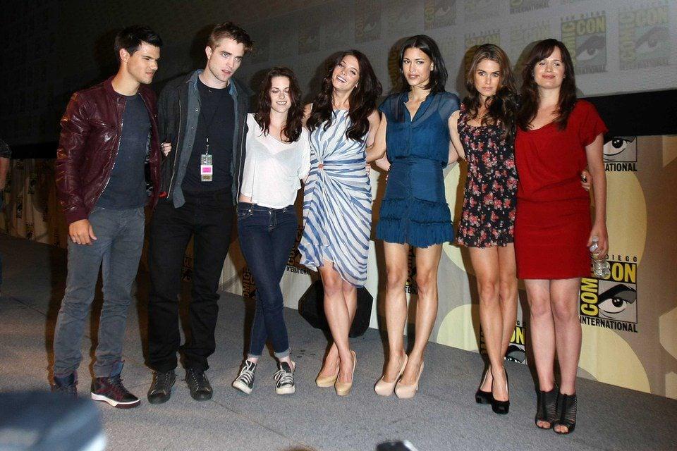 El reparto de 'Amanecer: Parte 1' en la Comic-Con 2011