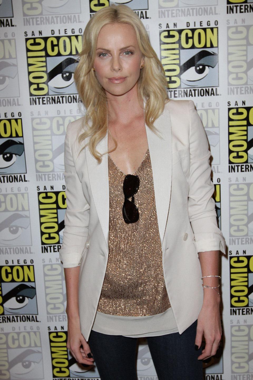 Charlize Theron en la Comic-Con 2011